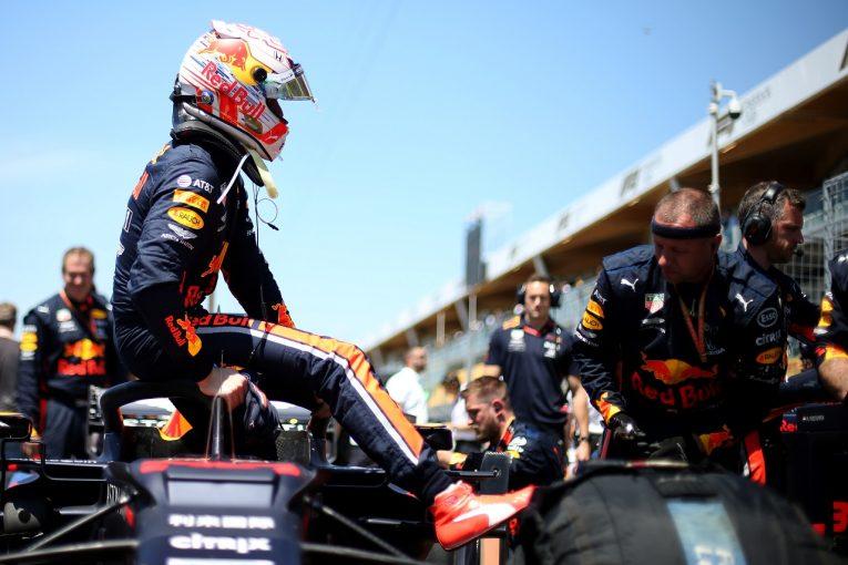 F1   フェルスタッペン5位「トップグループに追いつけるだけの速さはなかった。さらなる努力が必要と実感」:レッドブル・ホンダ F1カナダGP日曜