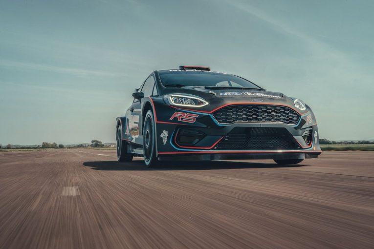 ラリー/WRC | フォード/Mスポーツ、カスタマー向けラリー車両の最新モデル『フォード・フィエスタR5』発表