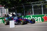 F1 | リタイアのアルボン「スタート直後の接触で、レースは終わったようなものだった」:トロロッソ・ホンダ F1カナダGP日曜