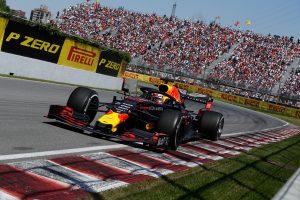 F1 | レッドブル・ホンダF1密着:モナコの優勝争いから一転、カナダGPはフェルスタッペンの奮闘実らずトップ2チームに力負け