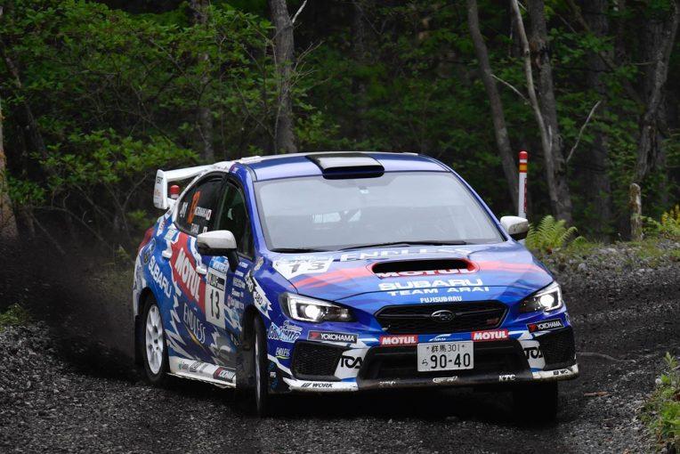 ラリー/WRC   全日本ラリー第6戦:新井敏弘が圧巻の走りで2019年2勝目。スバルがトップ3独占