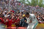 2019年F1第7戦カナダGP 優勝したルイス・ハミルトン(メルセデス)