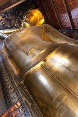涅槃仏像をセクシーに撮ってみました