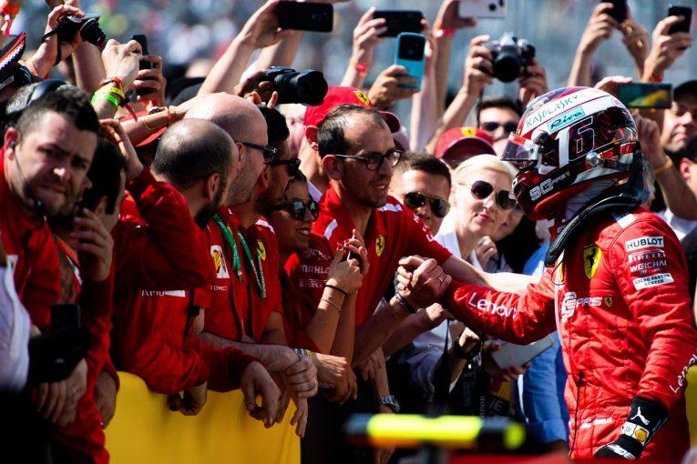 F1   ルクレール3位「自分のレースに満足。いずれ勝てる日が来る」:フェラーリ F1カナダGP日曜