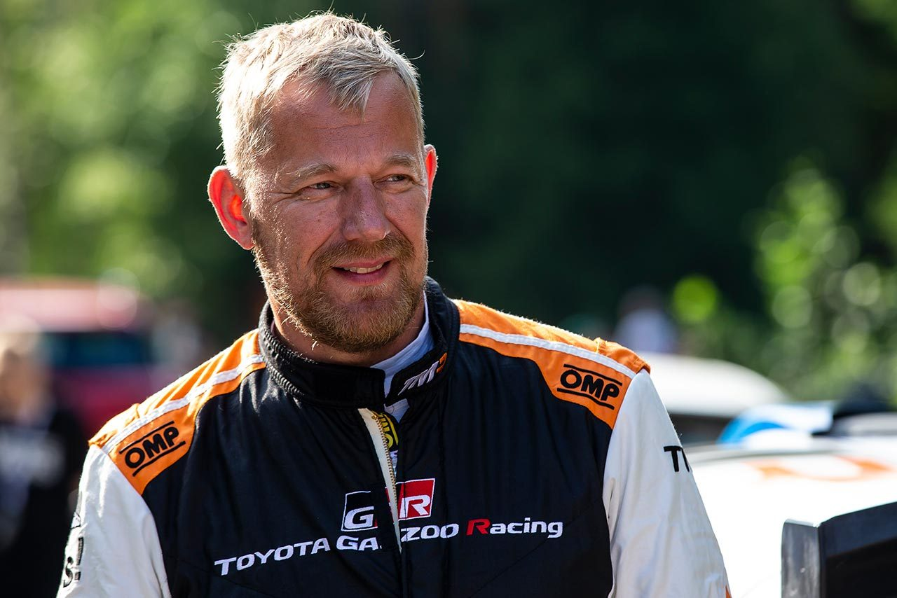 2017年、新井大輝のコドライバーを務めていたヤルモ・レーティネン
