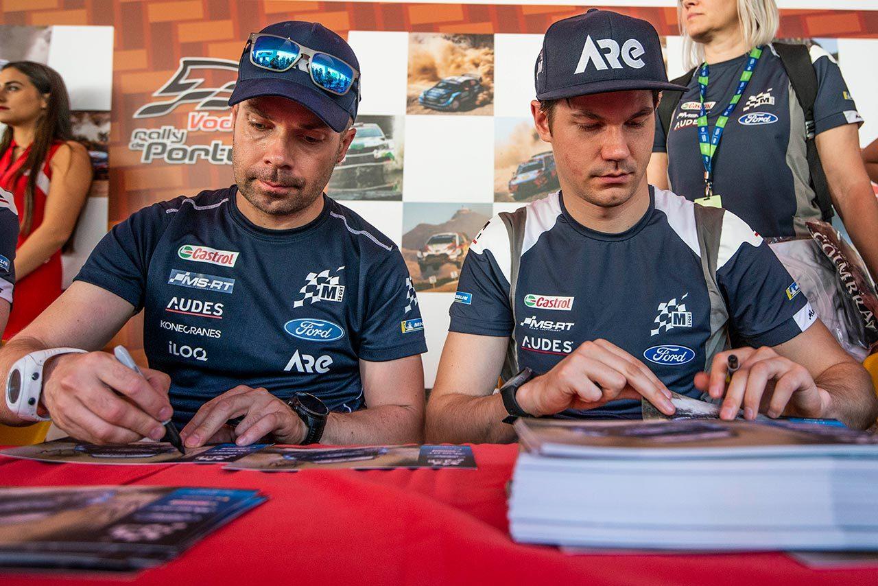 2019年シーズンからコンビを組んでいたテーム・スニネン(右)とマルコ・サルミネン(左)