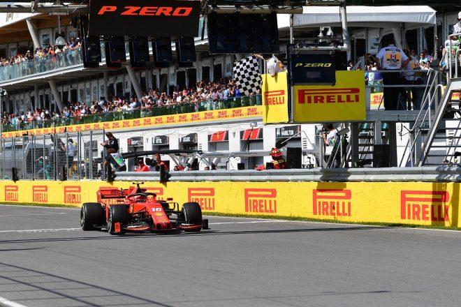 2019年F1第7戦カナダGP シャルル・ルクレール(フェラーリ)が3位を獲得