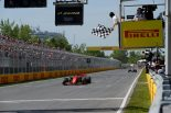 2019年F1第7戦カナダGP トップチェッカーを受けたセバスチャン・ベッテルはペナルティで2位