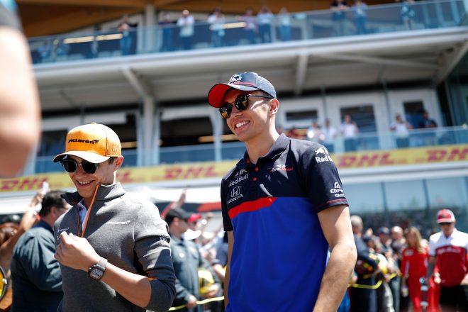 2019年F1第7戦カナダGP アレクサンダー・アルボン(トロロッソ・ホンダ)