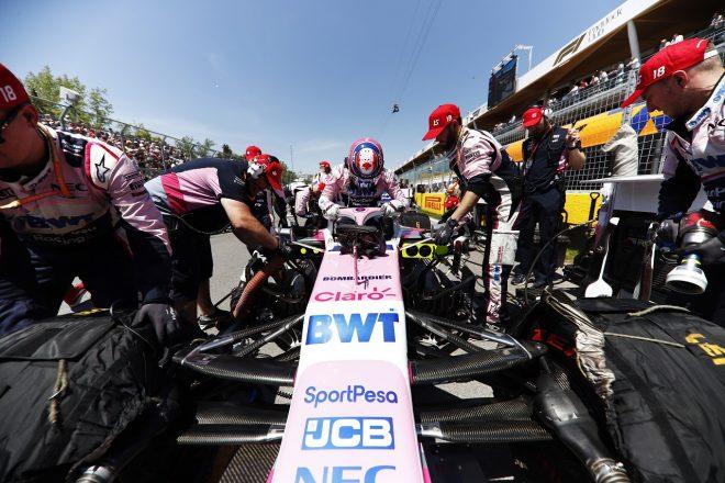2019年F1第7戦カナダGP ランス・ストロール(レーシングポイント)