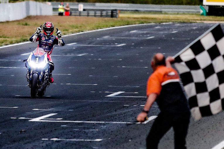 MotoGP | EWC:残り1時間でYARTヤマハに悲劇。TSRホンダがマッチレース制しオッシャースレーベン2連勝
