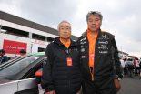 元シフト代表の鈴木哲雄氏が久々にレース現場へ