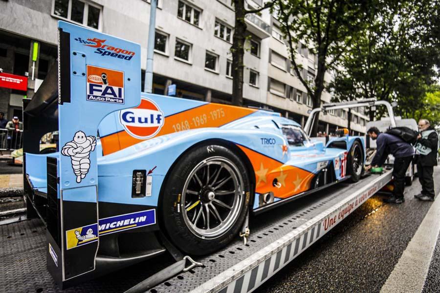 ル・マン24時間:LMP1では8年ぶり。ドラゴンスピード、WECラストレースでガルフカラーに