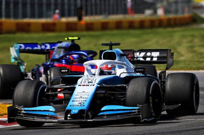 2019年F1第7戦カナダGP ジョージ・ラッセル(ウイリアムズ)