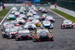 海外レース他 | TCR EU第3戦:スパ大会はアクシデント続発。土曜レース1では複数回横転の大クラッシュも
