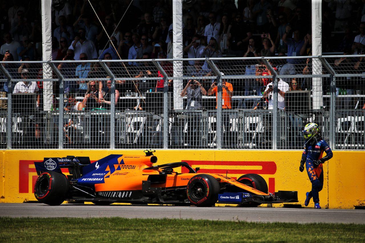2019年F1カナダGPでのノリス