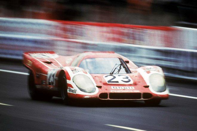 グッドイヤー製タイヤを履き1970年のル・マン24時間で勝利を飾ったポルシェ917K