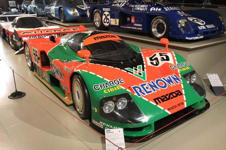 Blog | LMPカーのご先祖にグループCカーなどなど、ファン垂涎の名車が並ぶル・マン・ミュージアム【現地ブログ4回目】