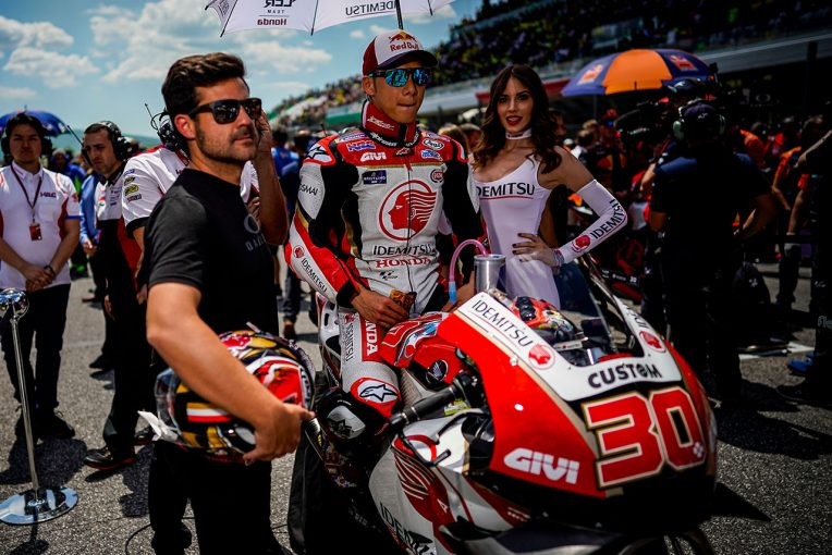MotoGP | MotoGP:2018年型ホンダRC213Vでトップ集団が見えた中上。カタルーニャGPでは表彰台の可能性も