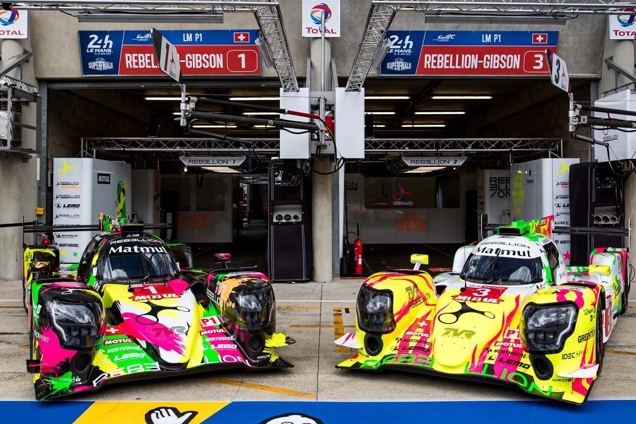WEC:レベリオンがド派手イメチェン。LMP1史上初のアートカーとなってル・マンに登場
