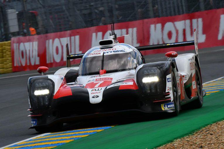 ル・マン/WEC | ル・マン24時間開幕もフリープラクティスは荒れ模様。可夢偉駆る7号車トヨタがトップタイム