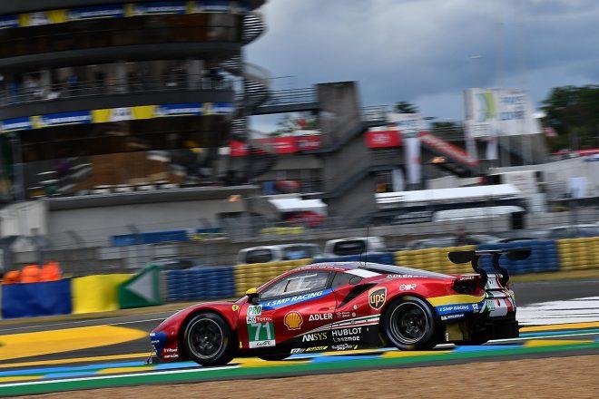 AFコルセの71号車フェラーリ