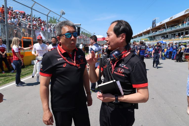 F1 | ホンダF1山本MDインタビュー:レッドブルの長所を活かせないカナダで力負け「完走した3台の入賞が唯一の救い」
