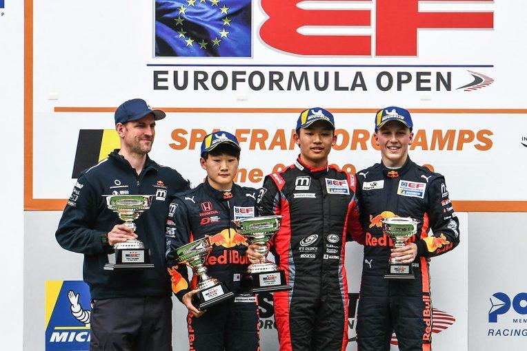 海外レース他 | ユーロフォーミュラ・オープン:佐藤万璃音の快進撃止まらず。スパ大会連勝でランク首位に