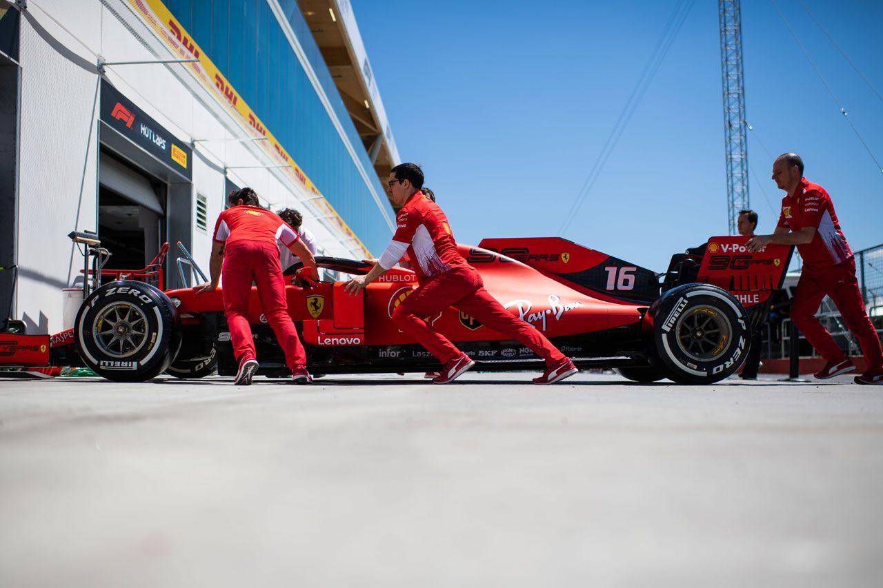 2019年F1カナダGP シャルル・ルクレール(フェラーリ)
