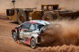 ラリー/WRC | 2019年のWRC第8戦イタリア、シェイクダウンステージを走るオット・タナク(トヨタ・ヤリスWRC)