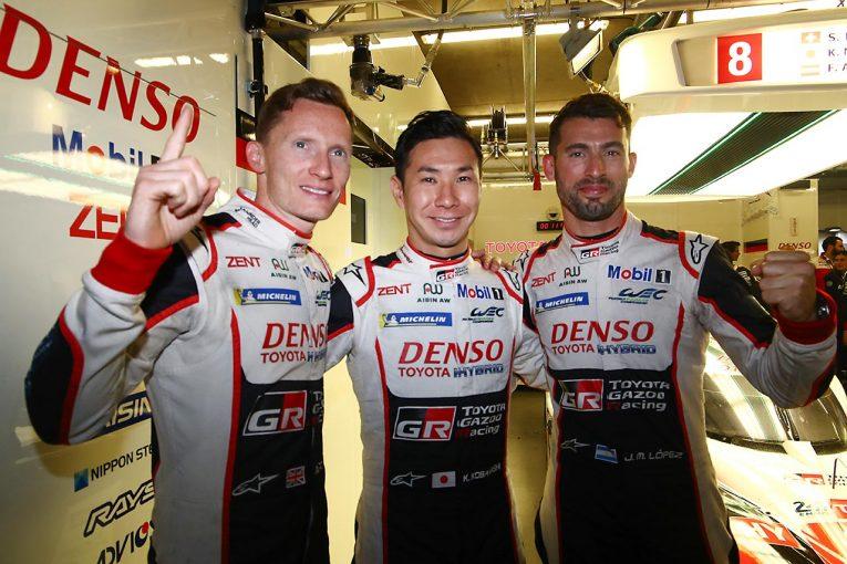 ル・マン/WEC | ル・マン24時間:小林可夢偉&トヨタがポールポジション獲得。トヨタは3年連続のフロントロウ独占