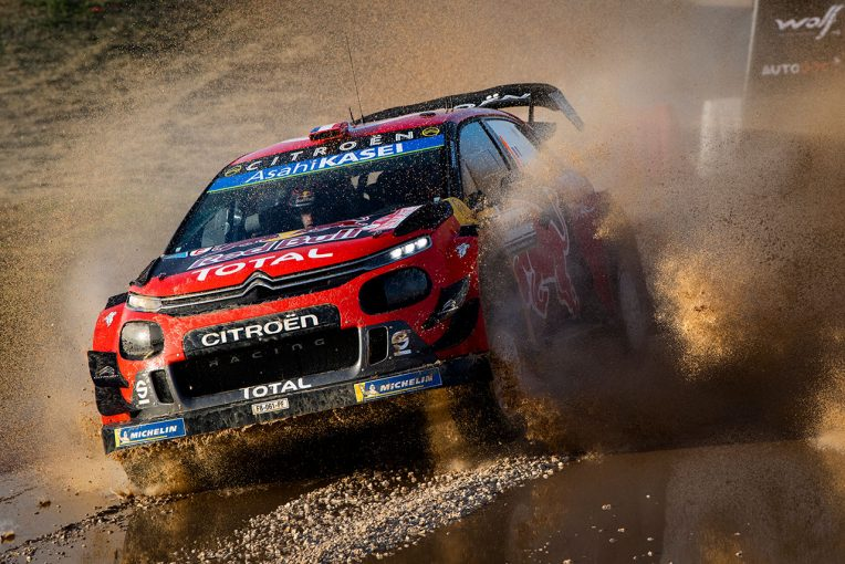 ラリー/WRC   WRC第8戦イタリア:シトロエンのワン・ツーで幕開け。トヨタが総合3〜4番手で続く
