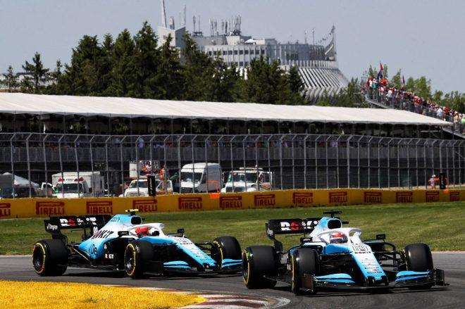 2019年F1第7戦カナダGP ジョージ・ラッセル、ロバート・クビサ