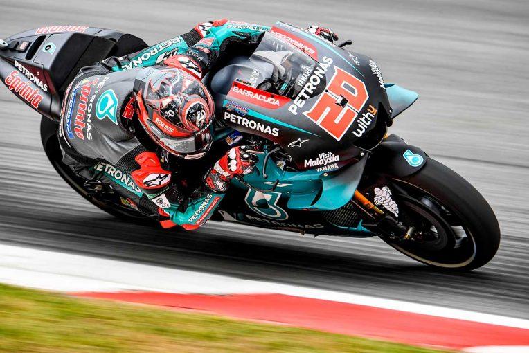 MotoGP   MotoGP第7戦カタルーニャGP初日総合でクアルタラロがトップタイム。中上も3番手で出だし好調