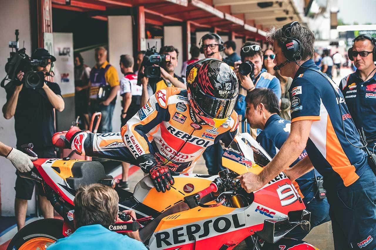 MotoGPカタルーニャGP初日総合でクアルタラロがトップタイム。中上も3番手で出だし好調
