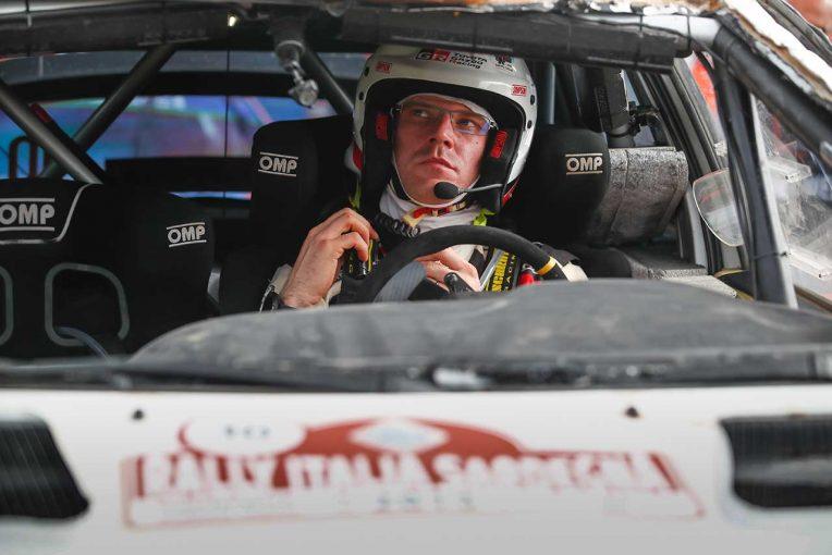 ラリー/WRC   WRC:トヨタ、第8戦イタリア2日目はタナクが総合3番手。ラトバラは「ステアリング系に何か問題」