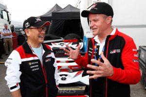 ラリー/WRC | ラリー・イタリア・サルディニアのサービスパークには豊田章男チーム総代表も姿を見せた