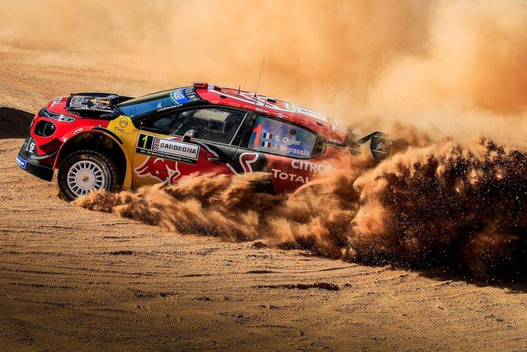 ラリー/WRC | デイリタイアした王者オジエ「明らかに自分のミス。リタイア以外に選択肢がなかった」/2019WRC第8戦イタリア デイ2後コメント
