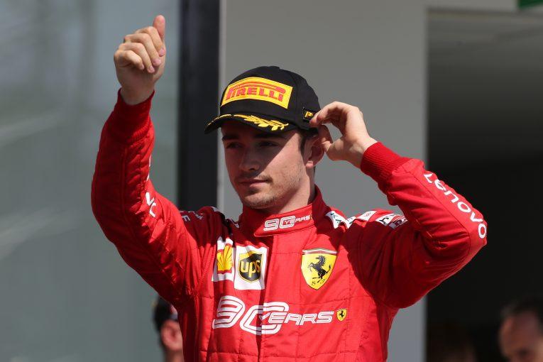 F1 | 現在ランキング5位のルクレール、今季のF1タイトル獲得を諦めず。「全戦で全力を尽くす」