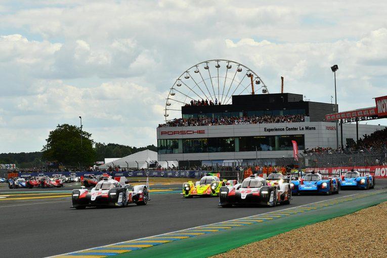 ル・マン/WEC | 第87回ル・マン24時間がスタート! 序盤から2台のトヨタTS050ハイブリッドがリードを広げる