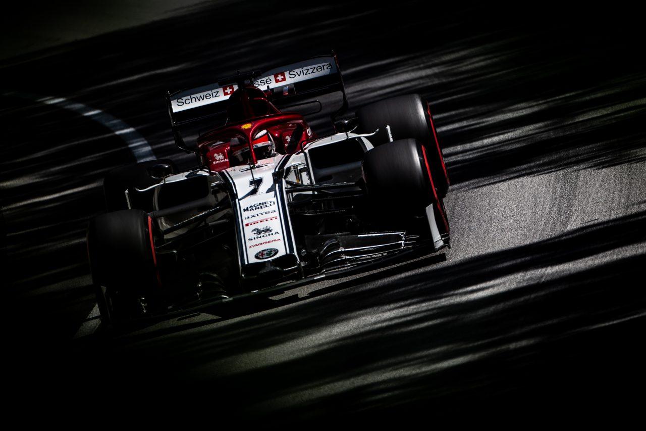 2019年F1スペインGPでのライコネン