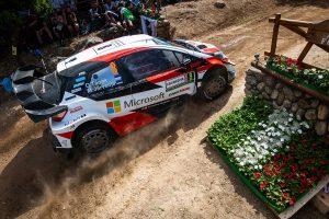 ラリー/WRC | 2019年のラリー・イタリア・サルディニア、競技3日目の全ステージを制したオット・タナク(トヨタ・ヤリスWRC)