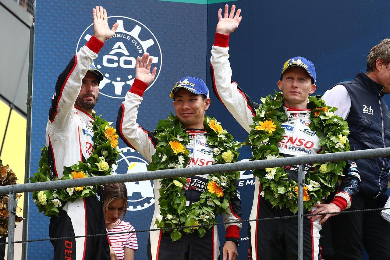 第87回ル・マン24時間は残り1時間でまさかの逆転劇。中嶋一貴組8号車トヨタが連覇。7号車はトラブルに泣く