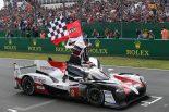優勝した8号車トヨタTS050ハイブリッド