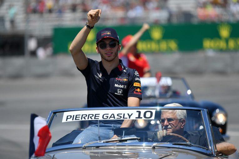 F1 | ガスリー、母国フランスGPに意気込み。「レッドブル・ホンダの競争力あるマシンでホームグランプリを走るのは特別な経験」