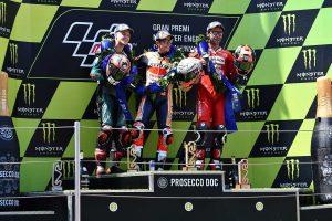 MotoGP | マルケス、後ろにクアルタラロがいたから「攻め続けた」/MotoGP第7戦カタルーニャGP 決勝トップ3コメント