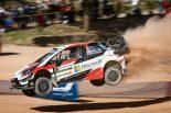 ラリー/WRC | WRC第8戦イタリアで総合優勝目前に迫ったオット・タナク(トヨタ・ヤリスWRC)