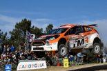 ラリー/WRC | WRC2を戦った勝田貴元(フォード・フィエスタR5)も不運に見舞われた