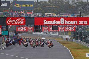 MotoGP | 2018年鈴鹿8時間耐久ロードレース スタートシーン