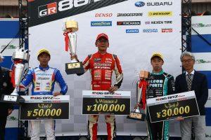 国内レース他 | 86/BRZ第4戦オートポリス クラブマンシリーズ第2ヒート表彰台